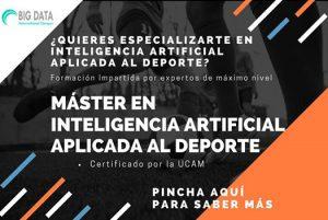 Máster en Inteligencia Artificial aplicada al Deporte