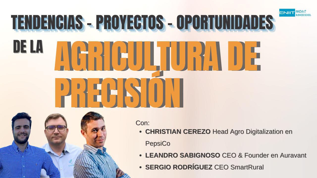 Sesión con Expertos de Agricultura de Precisión